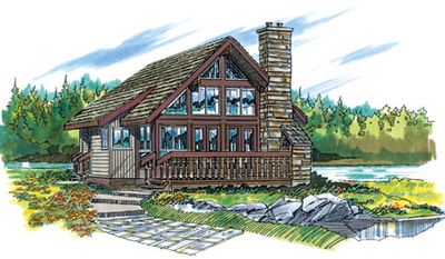 Rustic vacation home 8802sh architectural designs for Rustic vacation home plans