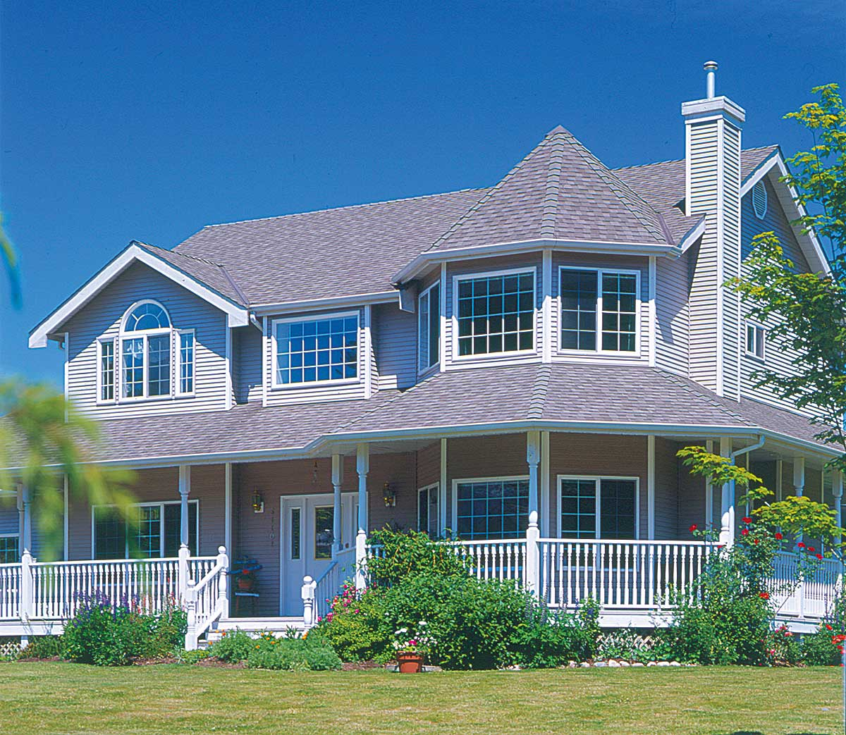 Victorian style home plan 88102sh architectural for Victorian style home plans