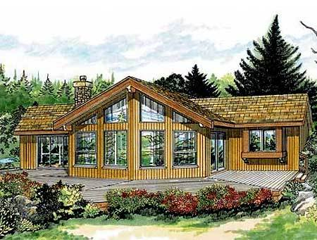 Cozy and comfortable cottage 88126sh architectural for Cozy cottage plans