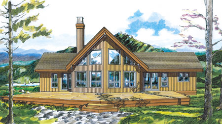 Mountain view house plans home design and style for Mountain house plans with a view