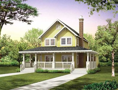 An Appealing House Plan - 88274SH thumb - 01