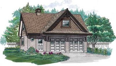 Traditional Guest House Plan - 88338SH thumb - 01