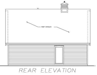 Traditional Guest House Plan - 88338SH thumb - 02