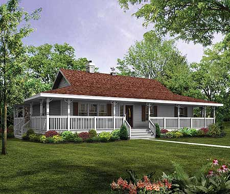 Porch wraps all around 88448sh architectural designs for House plans with porch all the way around