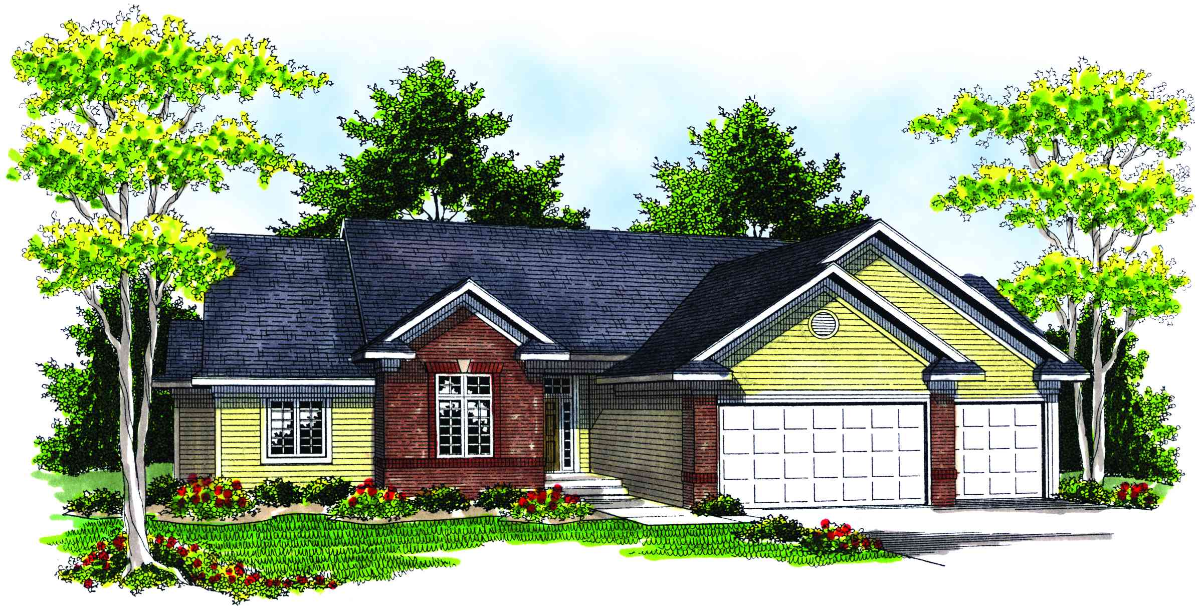 Perfect for entertaining 89038ah architectural designs for Perfect house plan