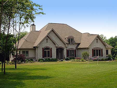 Timeless country french home plan 89061ah 1st floor for European country house plans