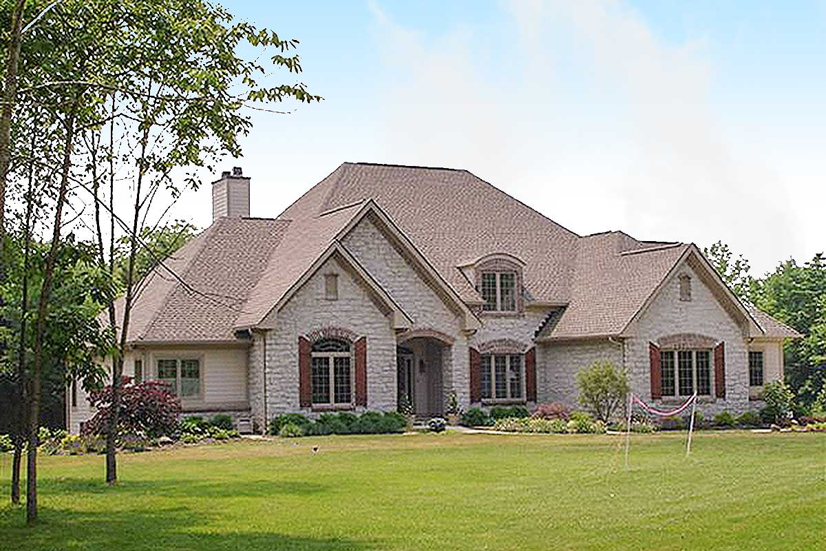 Timeless country french home plan 89061ah for Timeless house plans