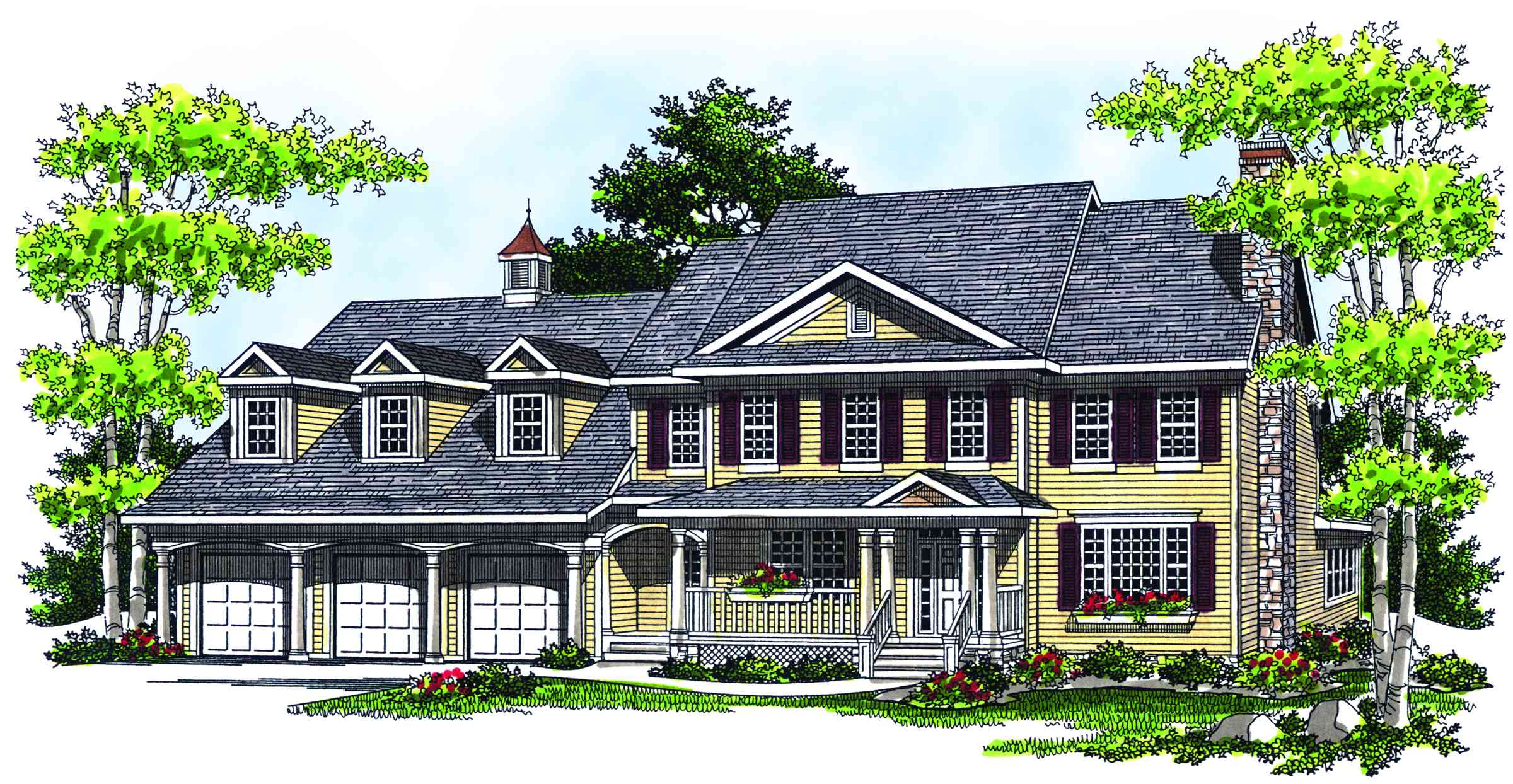 Timeless elegance 89090ah architectural designs for Timeless house plans