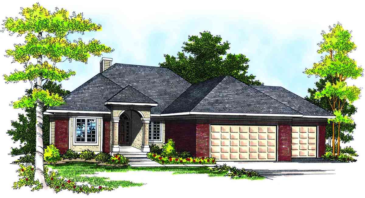 Traditional ranch home plan 89113ah architectural for Traditional ranch house