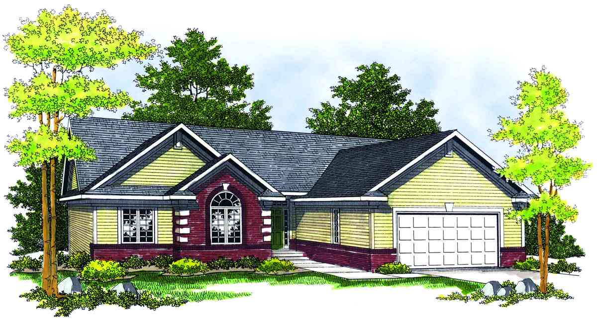 Traditional ranch home plan 89141ah architectural for Traditional ranch home plans