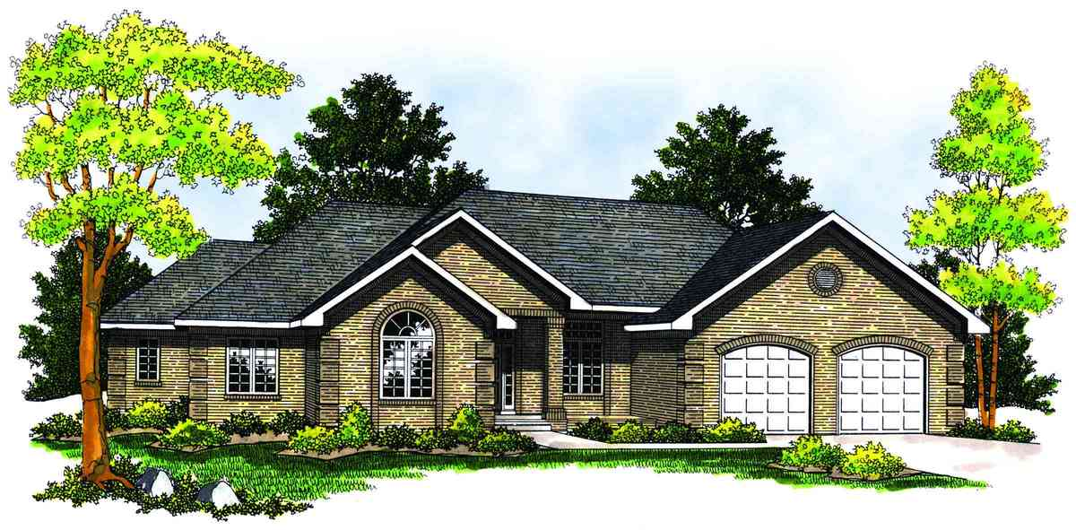 Beautiful Ranch Home Plan 89150ah Architectural
