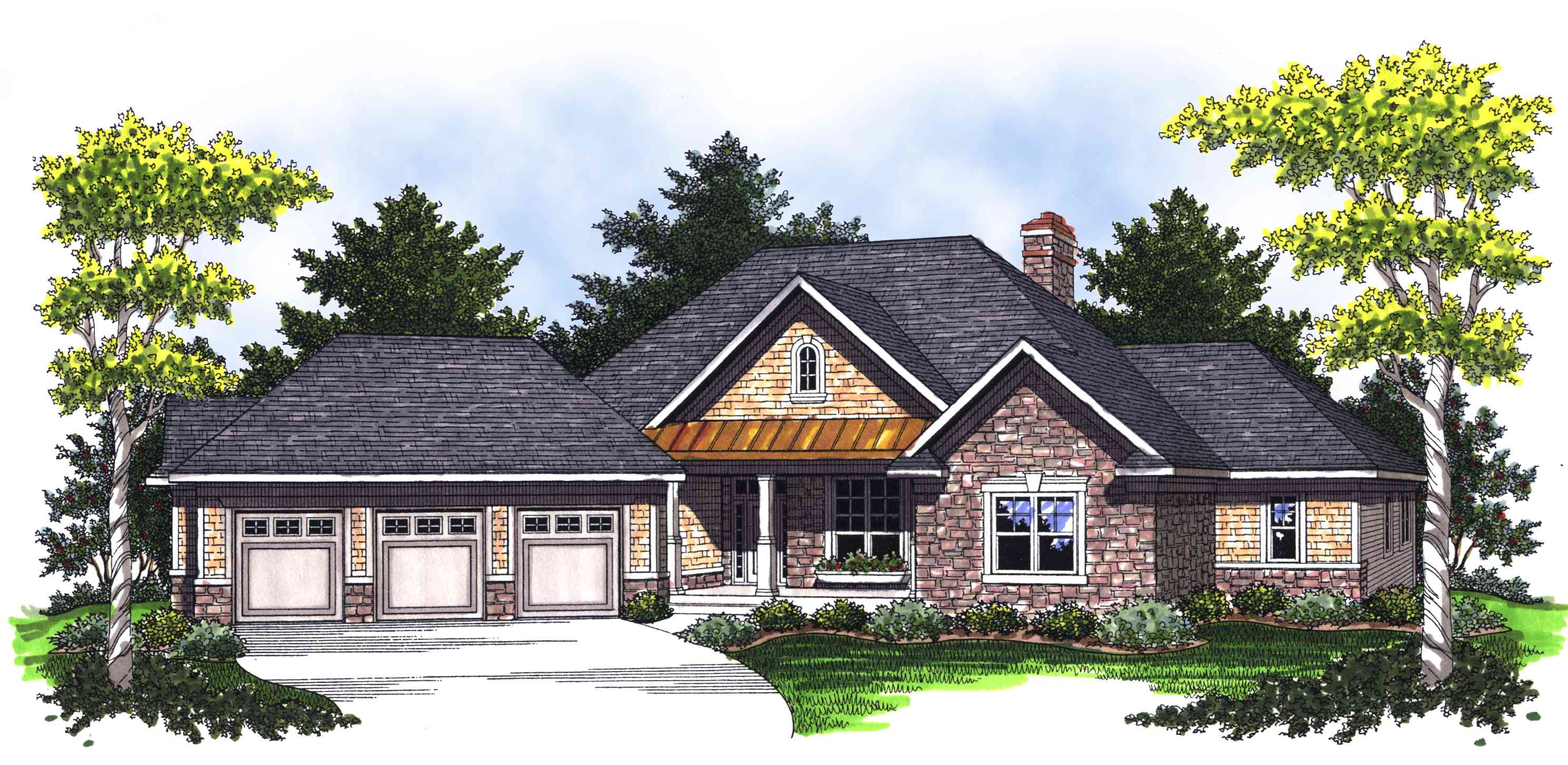 Ranch with large living and entertaining space 89242ah for Home plans for entertaining