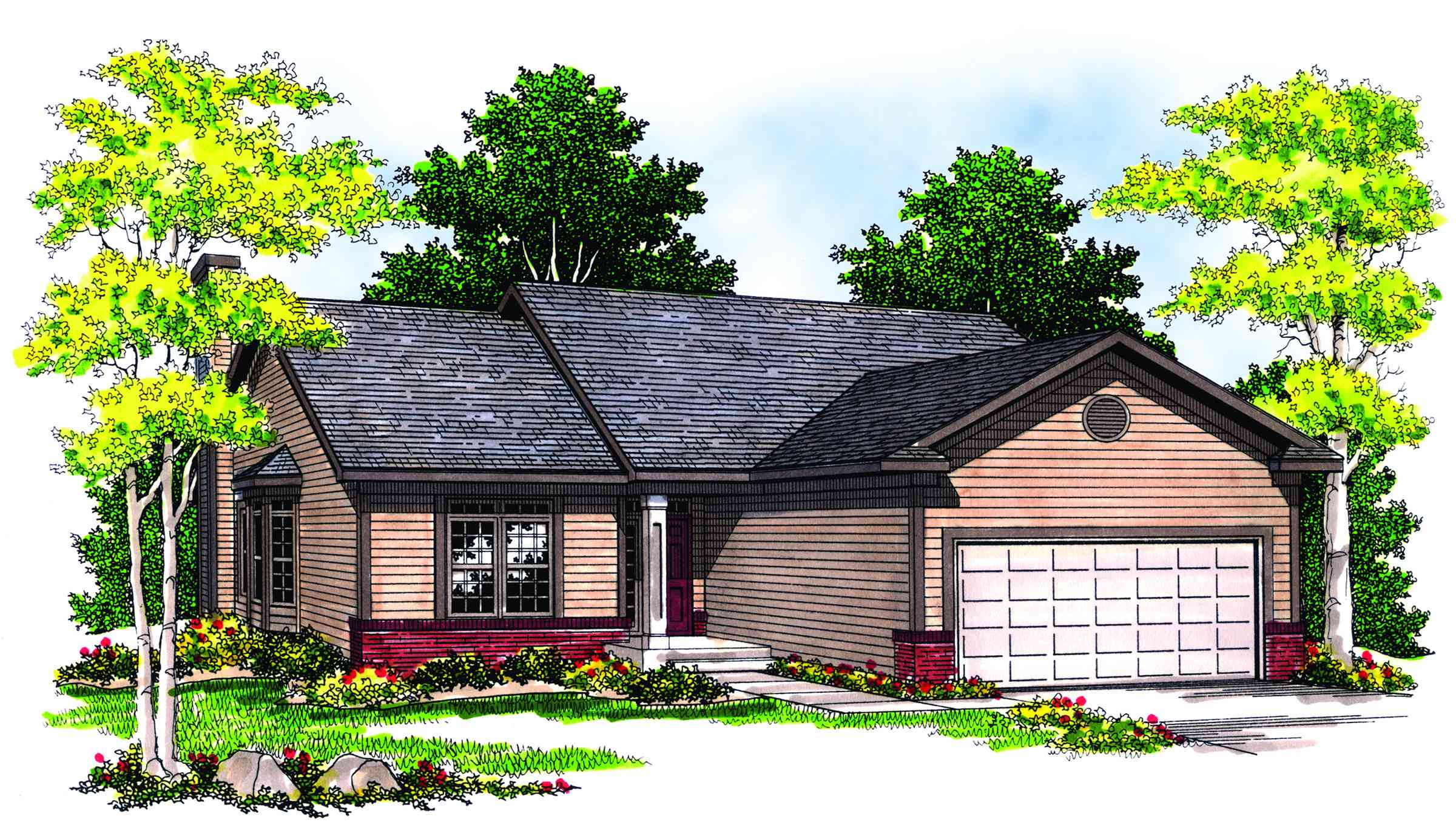 Architectural designs for Functional house plans