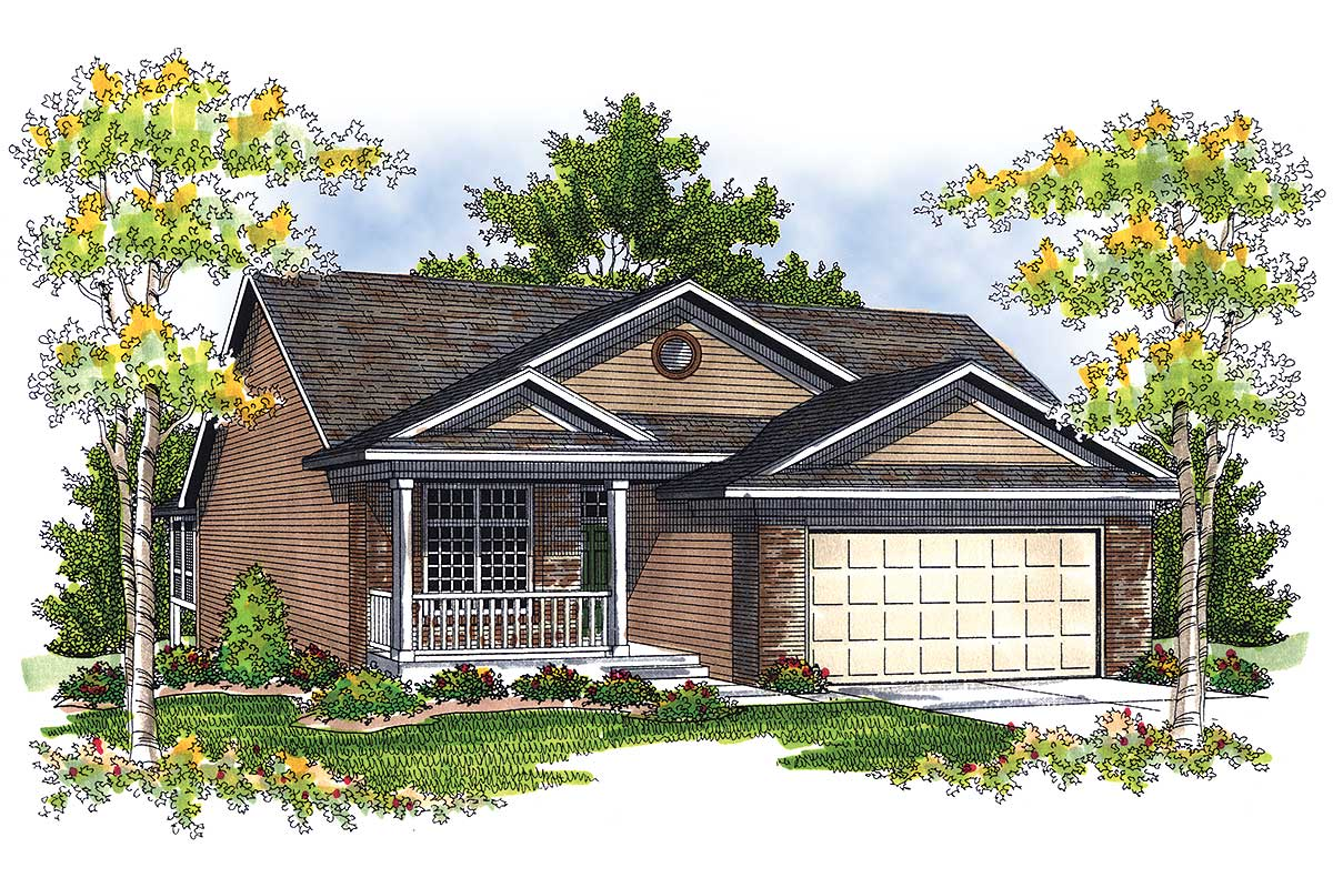 Vaulted ceilings 89337ah architectural designs house for Vaulted ceiling house plans