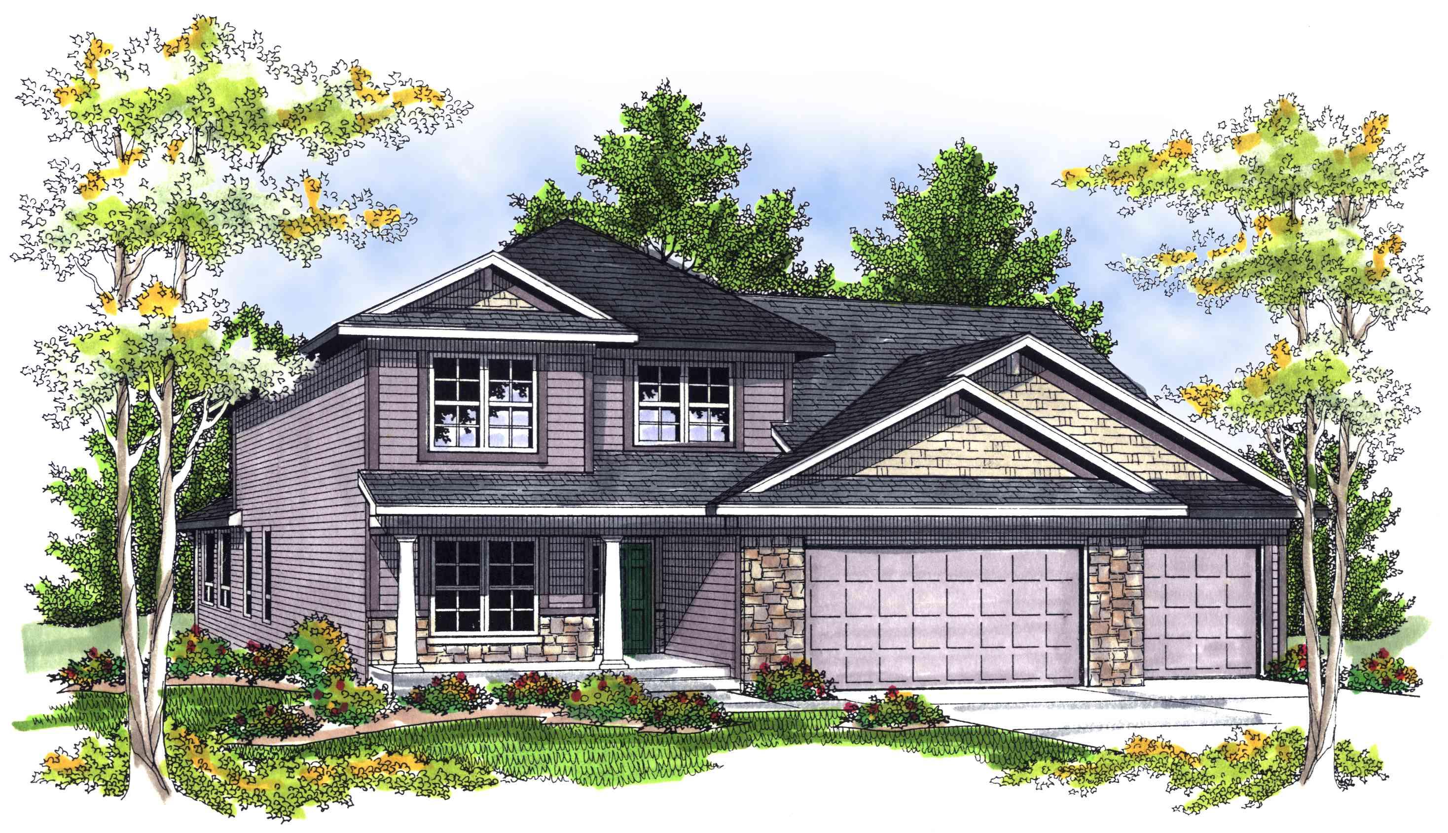 Open Floor Cottage 89341ah 1st Floor Master Suite Cad