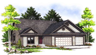 Handsome Ranch Home Plan - 89396AH thumb - 01