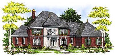 Detail Enhanced Two-Story Home Plan - 89404AH thumb - 01
