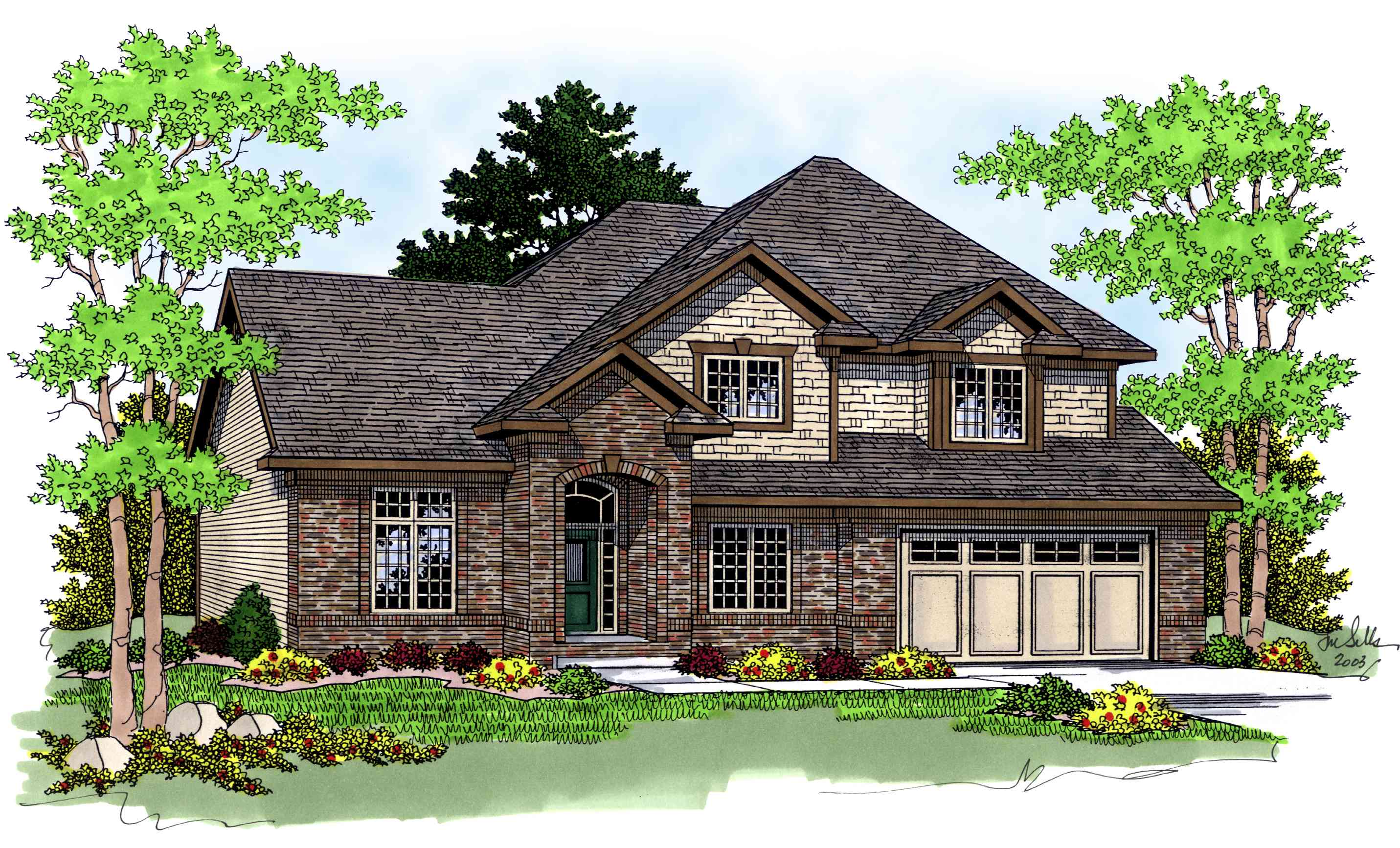 Practical floor plan 8942ah architectural designs for Practical home plans