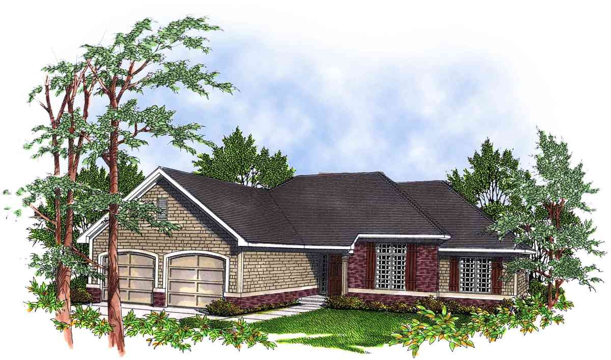 Perfect for entertaining 8943ah architectural designs for Large home plans for entertaining