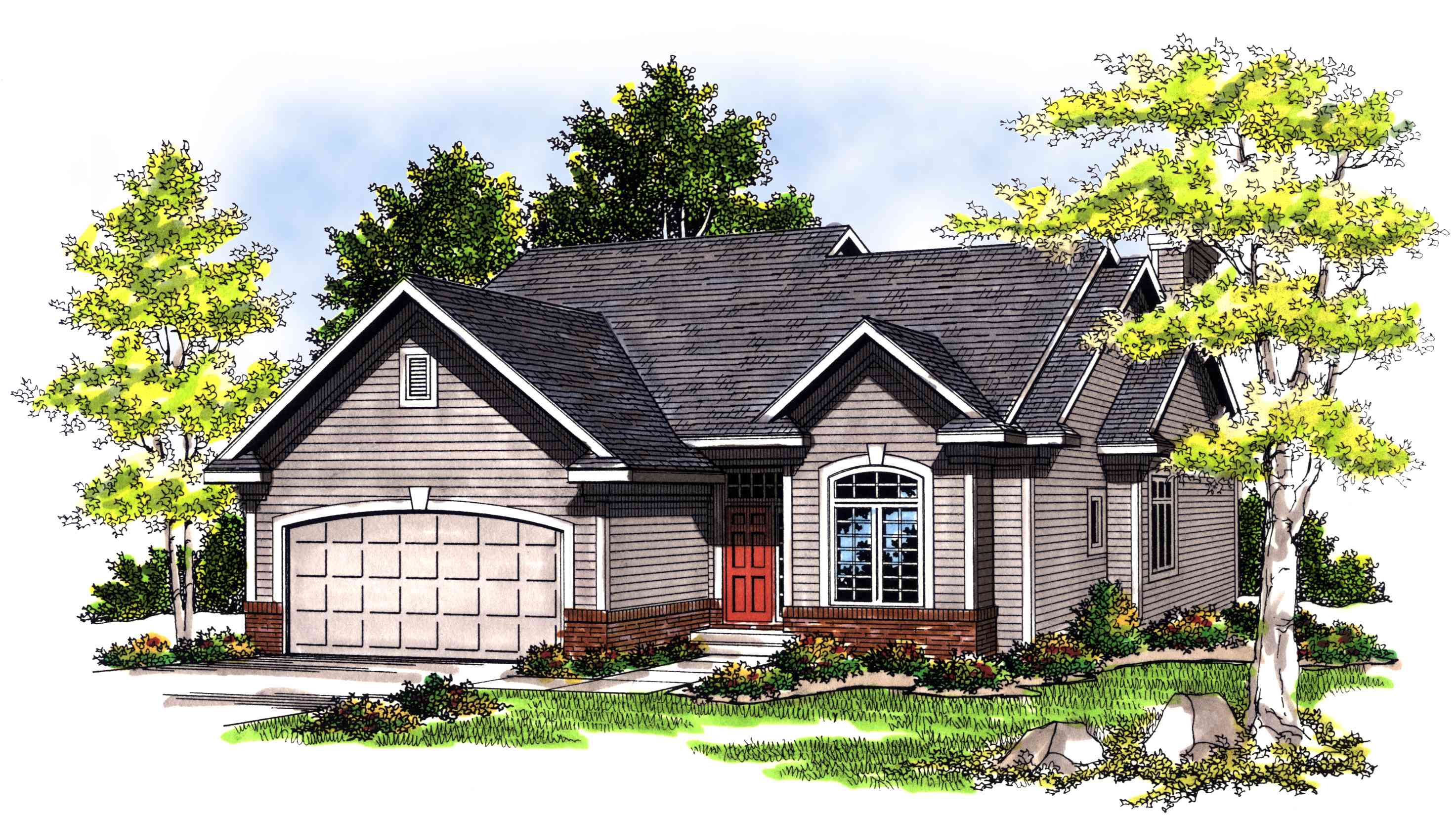 Cozy Ranch House Plan 89444ah Architectural Designs