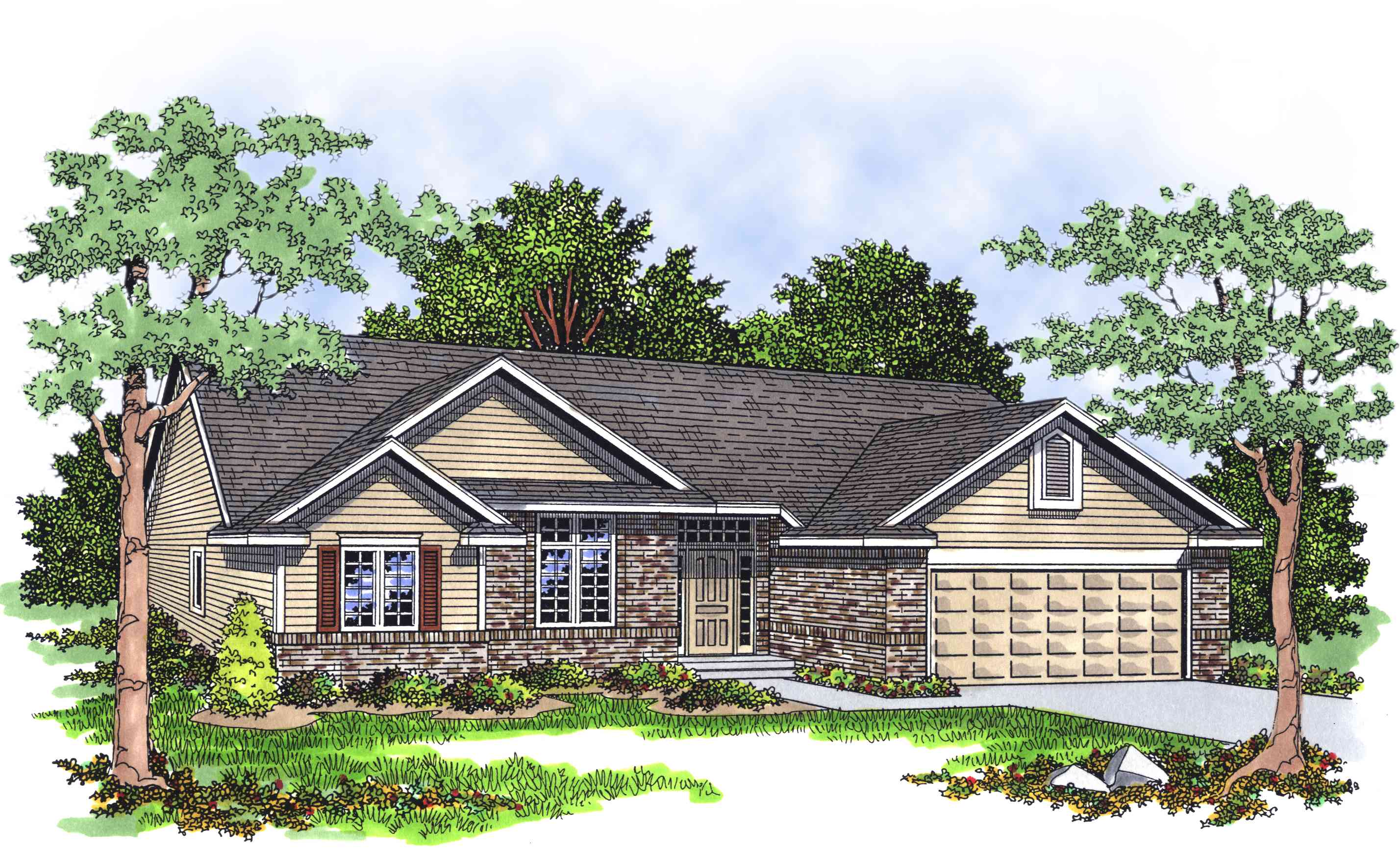 Good looking ranch house plan 8945ah architectural for Best looking houses