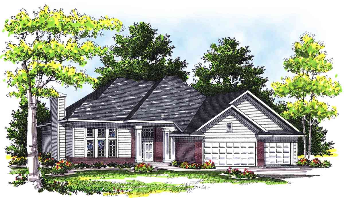 Large Split Foyer House Plans : Unique split foyer ranch ah st floor master