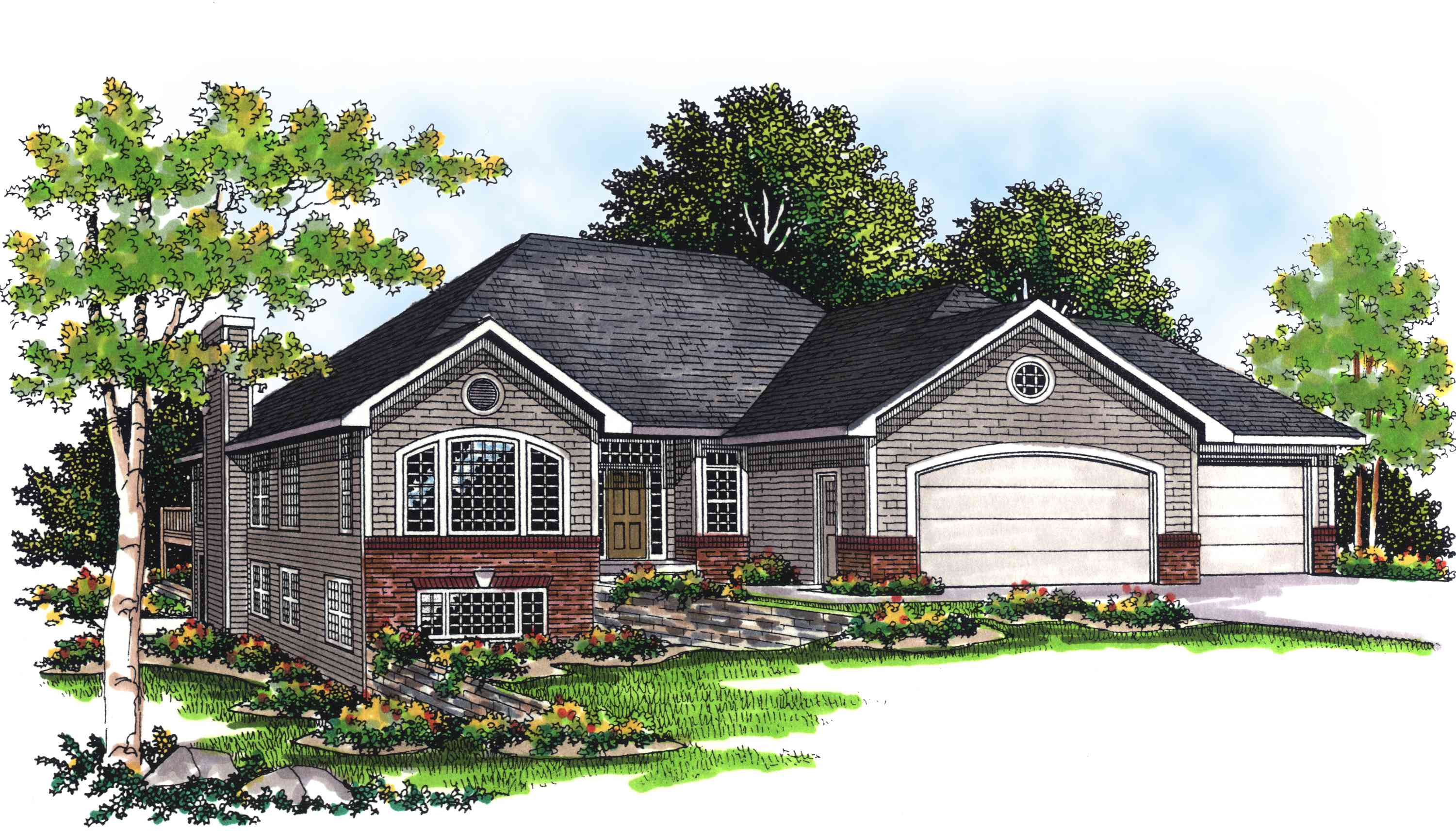 Functional 2 bed home plan 89513ah architectural for Functional house plans