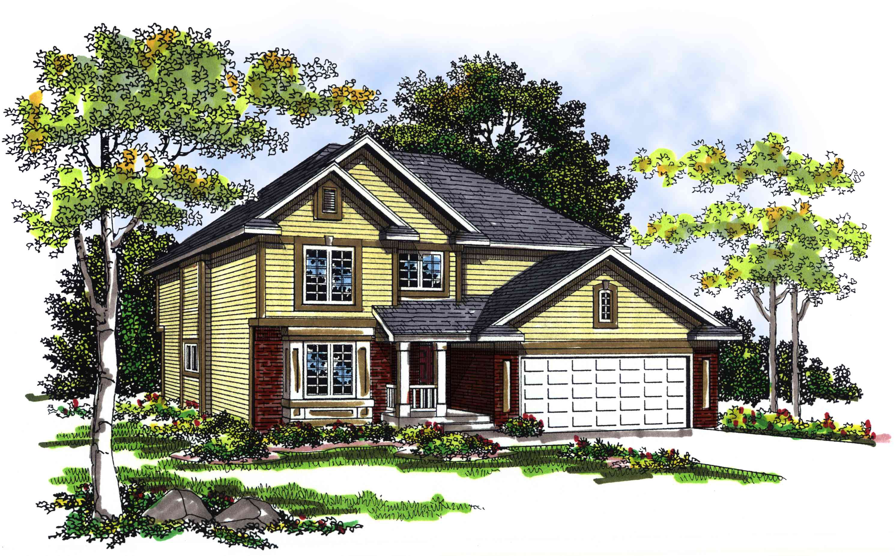 Cozy 4 bedroom 2 story house plan 89525ah for Cosy house plans