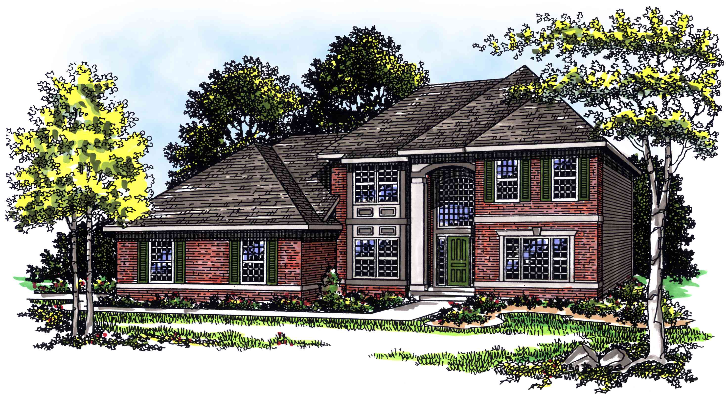 Functional 2 story 3 bedroom house plan 89537ah Functional house plans