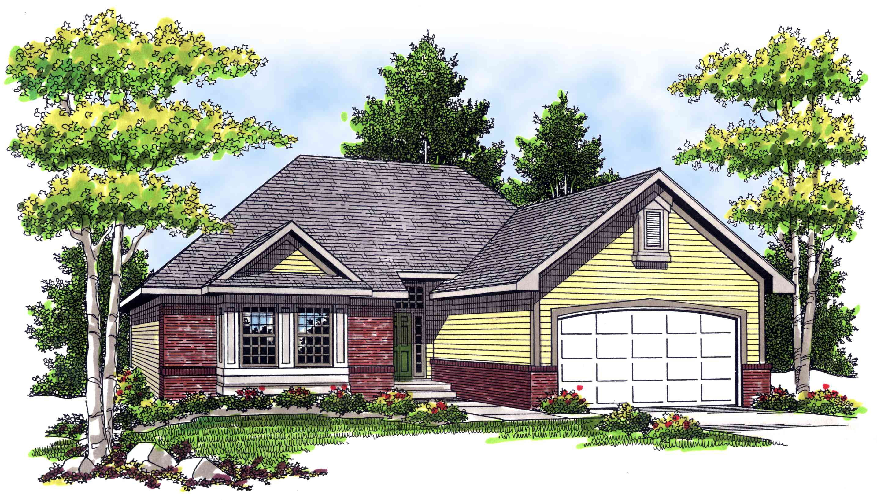 Cozy three bedroom ranch 89545ah architectural designs for 3 bedroom ranch house