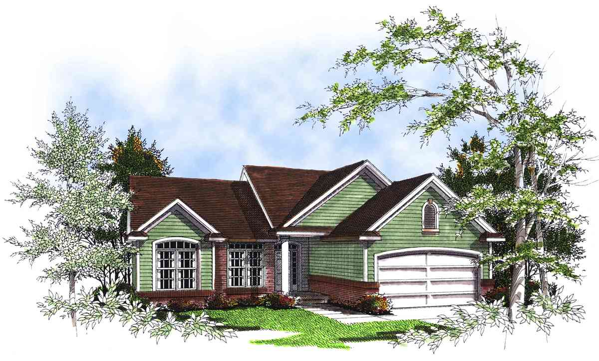 Smart and practical floor plan 89574ah architectural for Practical home plans