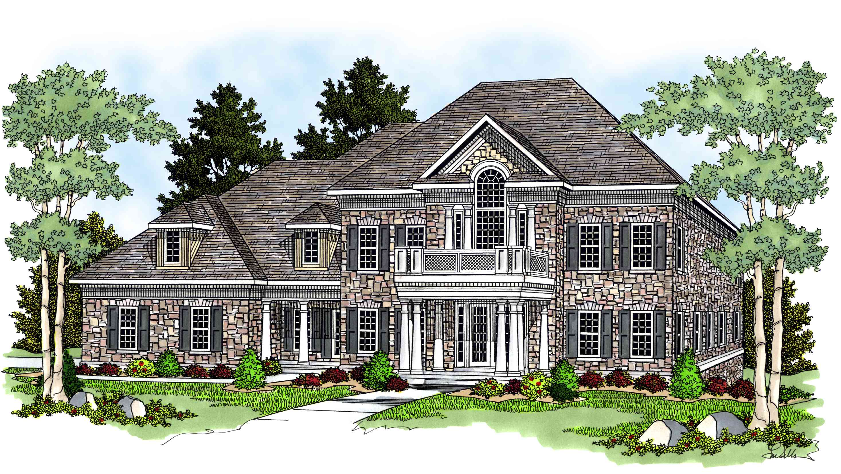Estate Home Plan 8964ah Architectural Designs House