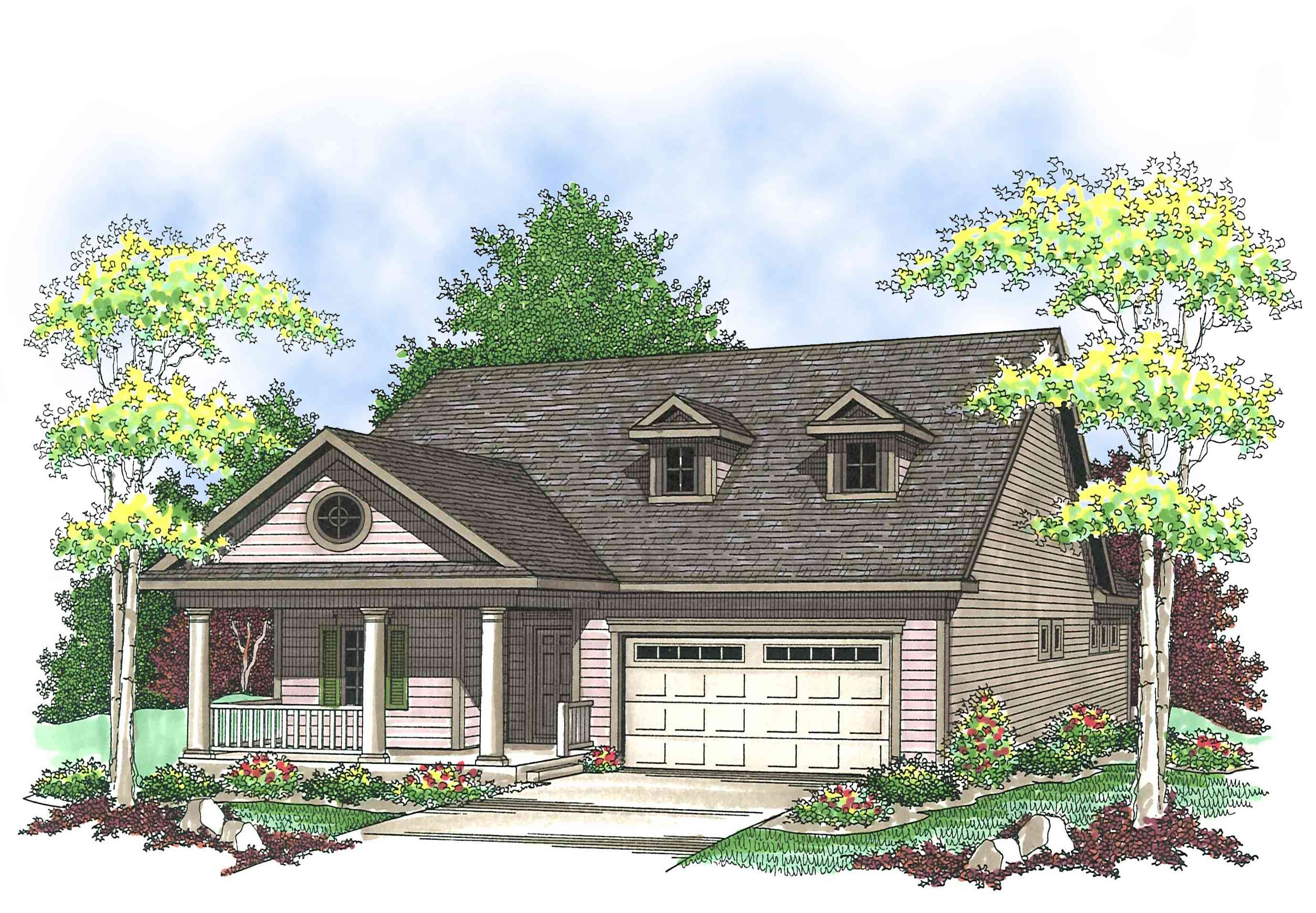 Affordable Ranch Home Plan 89649AH 1st Floor Master