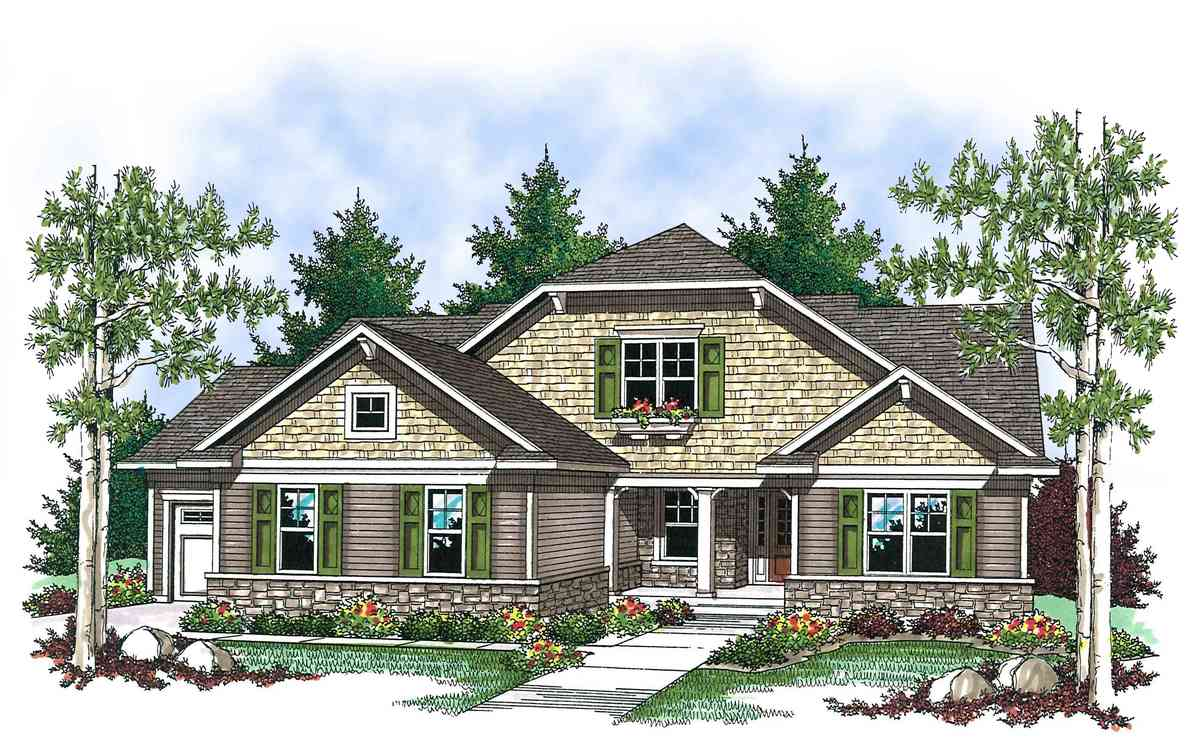 Adorable craftsman ranch 89654ah architectural designs for Craftsman ranch house plans