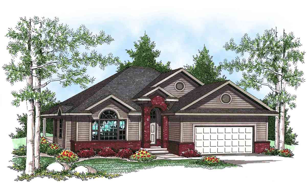 Affordable ranch home plan 89678ah architectural for Reasonable house plans