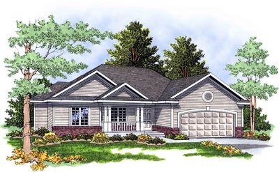 Highly Functional Ranch Home Plan 8969ah Architectural