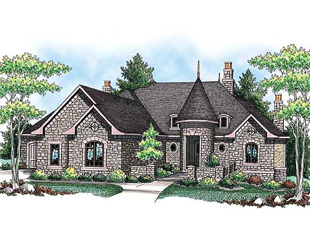 house plans turret home design and style