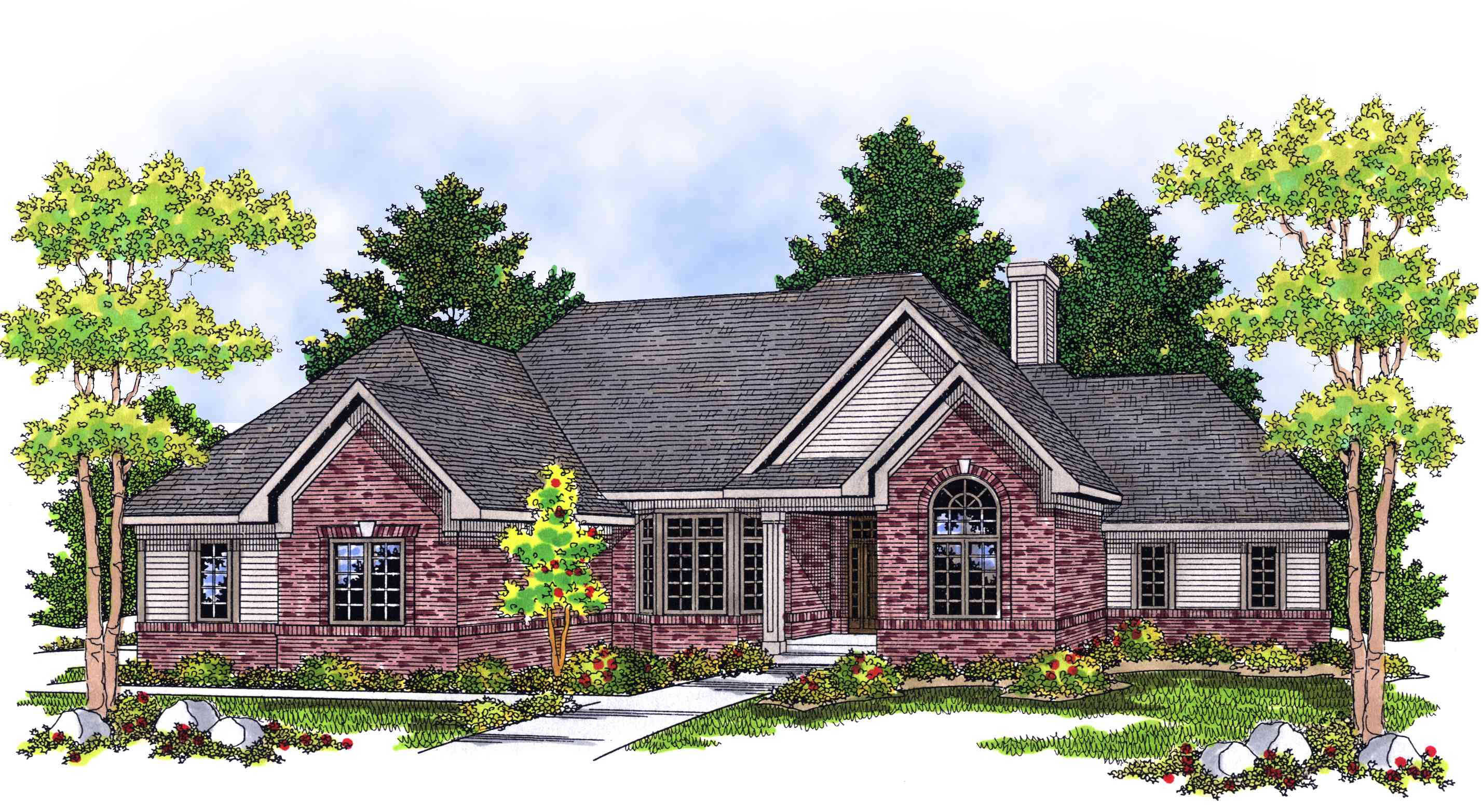 Comfortable And Affordable Ranch Home Plan 8973ah