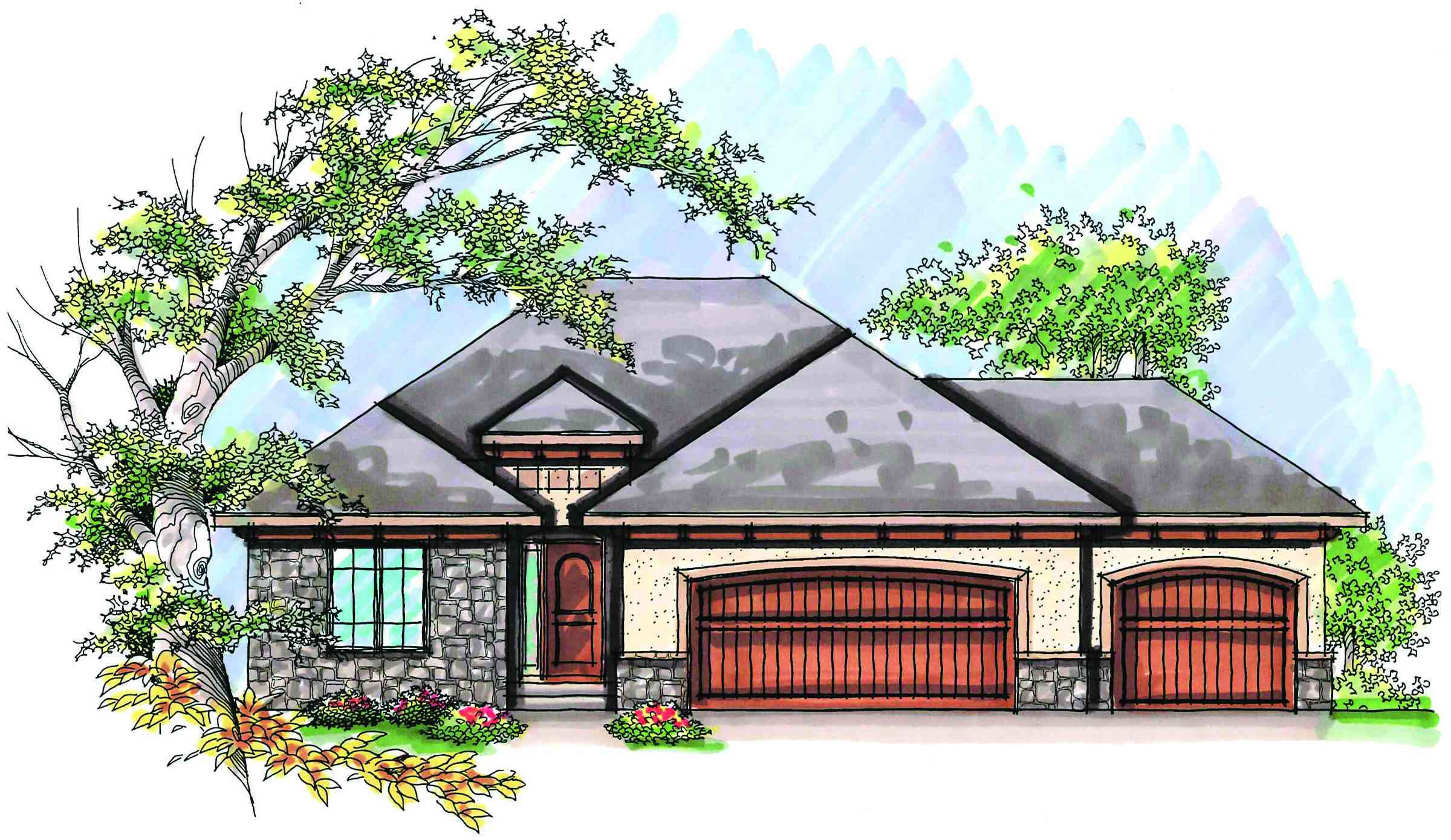 Perfect retirement design 89737ah architectural for House plans for retirement