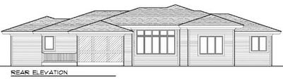 Prairie-Style Home in Two Versions - 89753AH thumb - 03