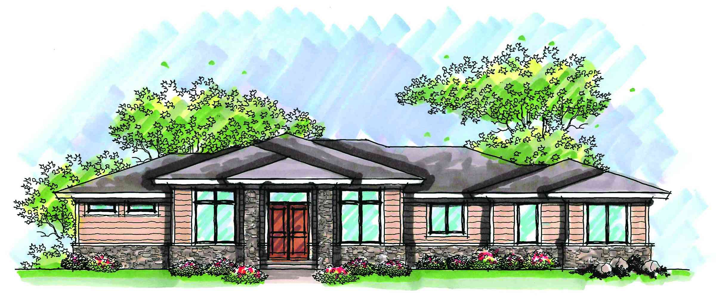 Expandable prairie style home plan 89754ah for Expandable home designs