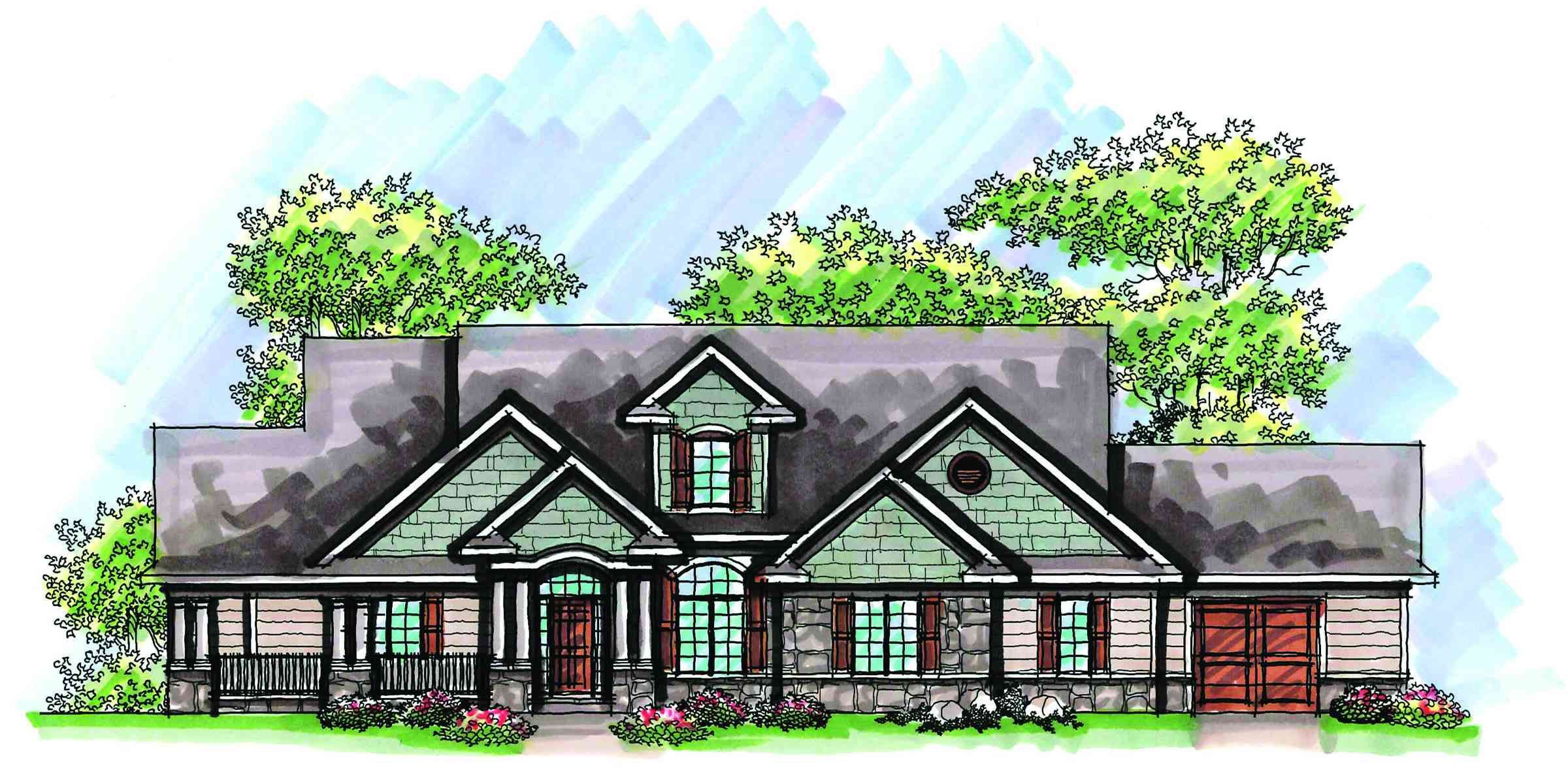 Expandable craftsman home plan 89755ah architectural for Expandable home designs