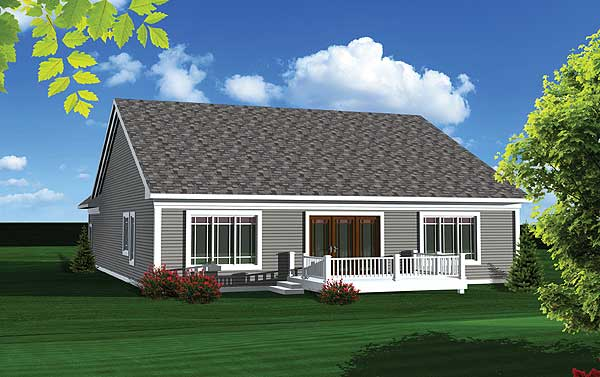 Easy To Build 2 Bed Home Plan 89819ah 1st Floor Master
