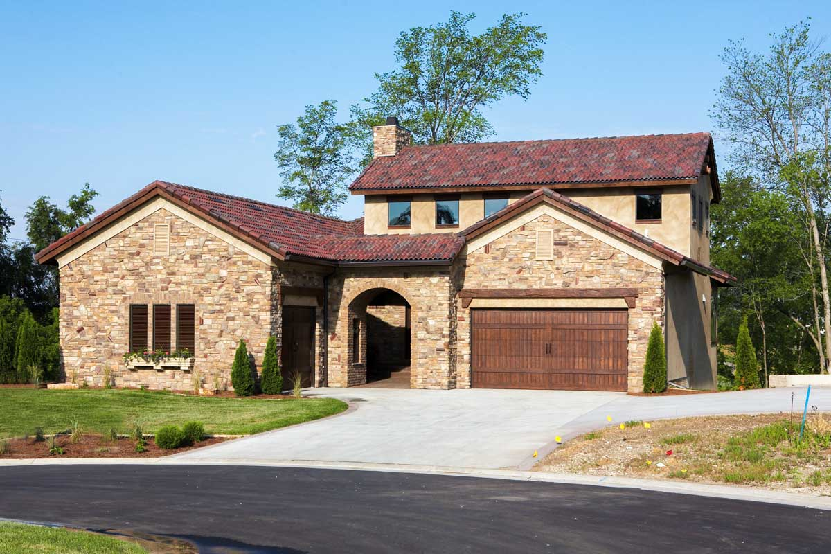 Timeless tuscan with courtyard 89823ah architectural for Timeless house plans