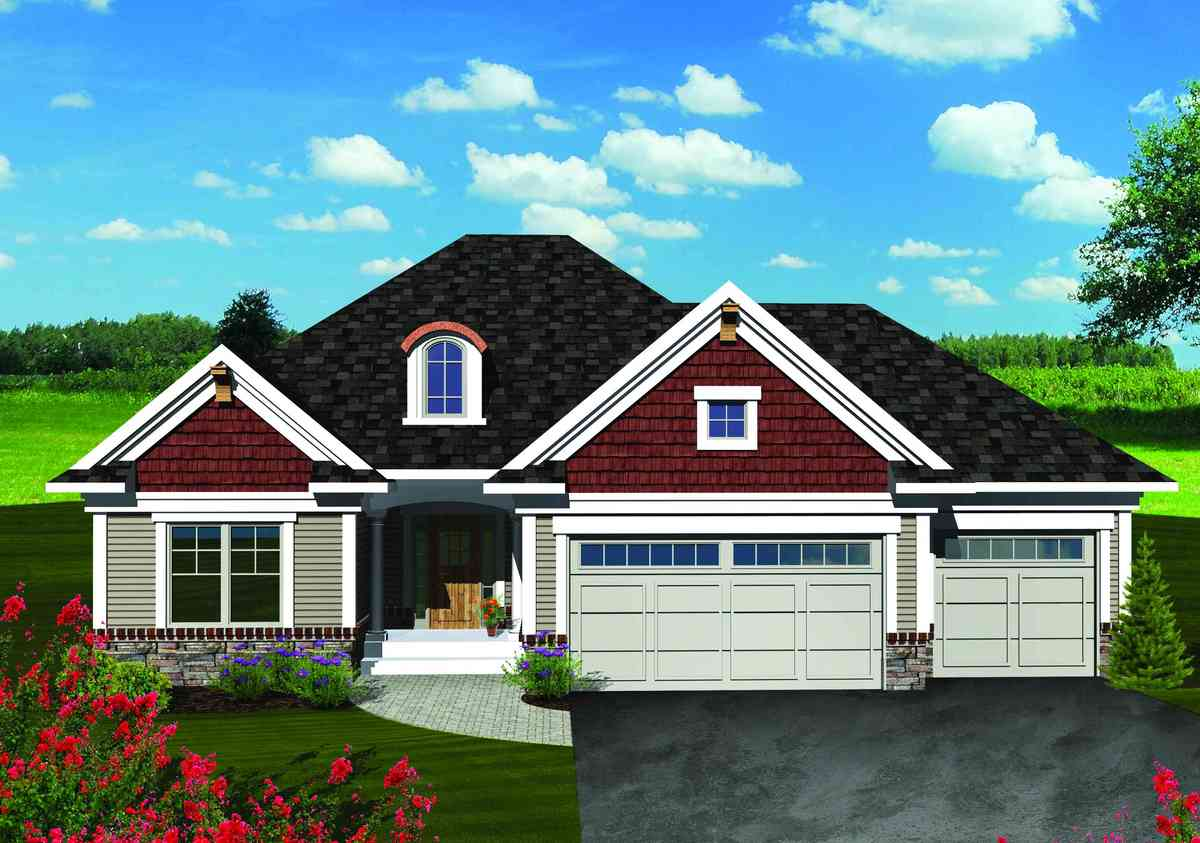 Southern ranch home plan 89843ah architectural designs for Southern designer house plans