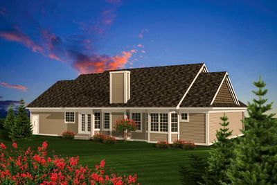 Affordable ranch home plan 89848ah architectural for Affordable ranch home plans