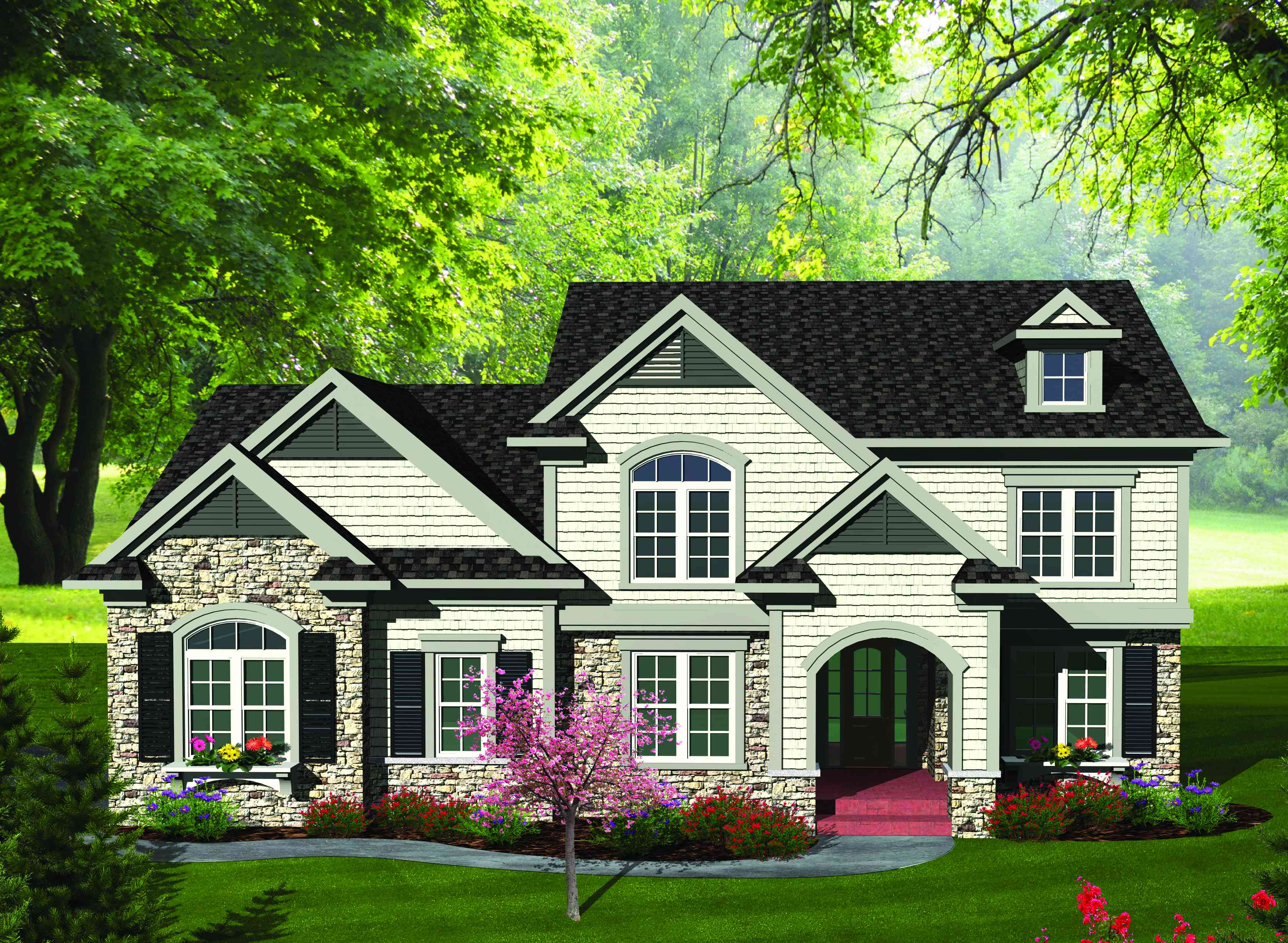 Updated Traditional Home Plan - 89854AH