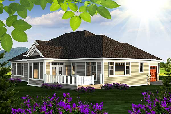 Prairie Ranch House Plan 89921ah 1st Floor Master
