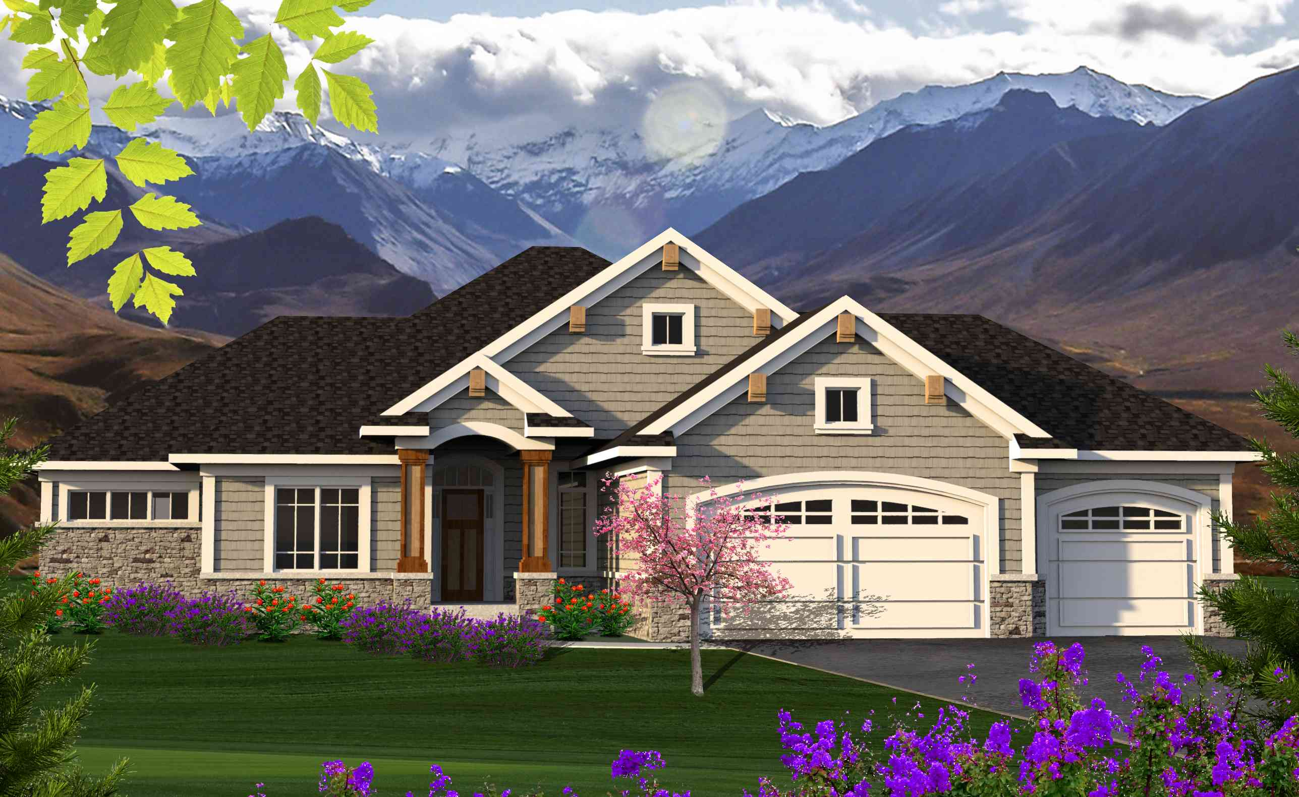 Architectural designs for Accent homes floor plans