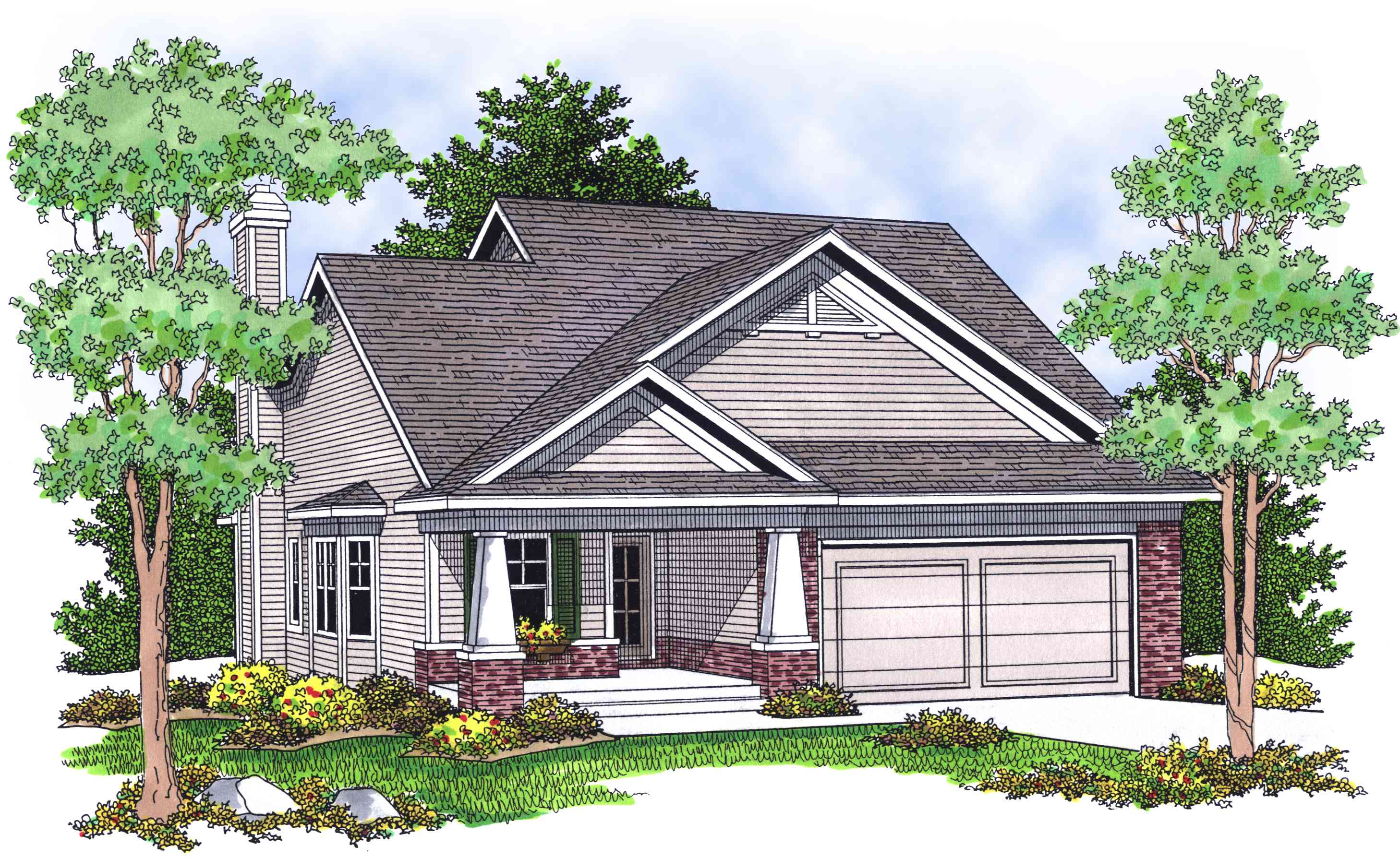 Quaint and charming country cottage 8997ah 1st floor for Charming house plans